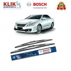 "Bosch Sepasang Wiper Kaca Mobil Toyota Camry V4 (2006-on) Advantage 24"" & 20"" - 2 Buah/Set"