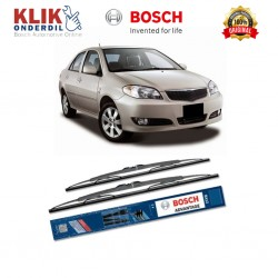 """Bosch Sepasang Wiper Kaca Mobil Toyota Vios (2003-2007) Advantage 22"""" & 14"""" - 2 Buah/Set"""