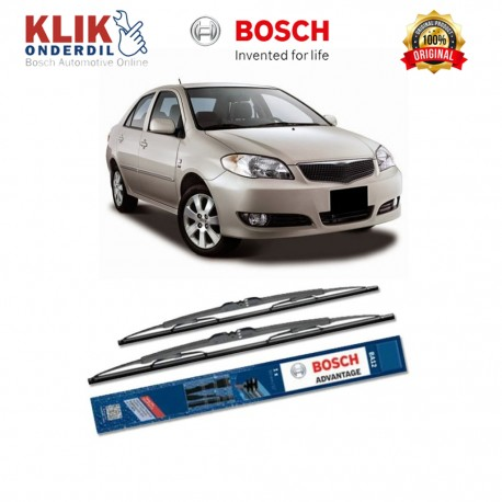 "Bosch Sepasang Wiper Kaca Mobil Toyota Rush (2006-on) Advantage 21"" & 18"" - 2 Buah/Set"