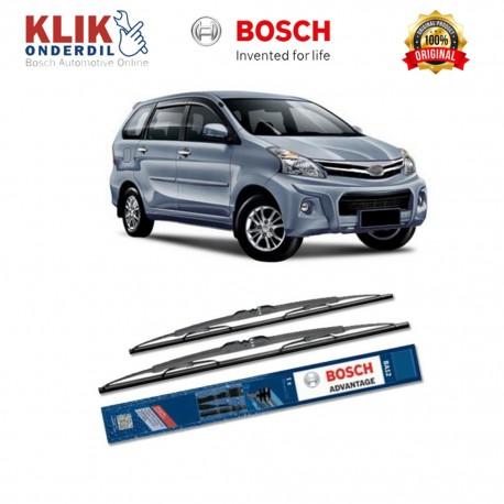 """Bosch Sepasang Wiper Kaca Mobil Daihatsu Xenia Advantage 20"""" & 18"""" - 2 Buah/Set - Harga Wiper Murah Merk Terbaik"""