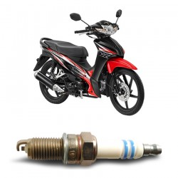 Bosch Busi Sepeda Motor Honda Revo UR4A130 Irridium - u/ Motor Merk yang Bagus dg Harga Murah