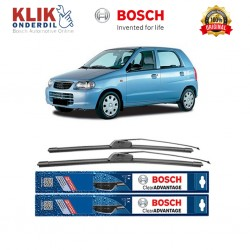 "Bosch Sepasang Wiper Frameless New Clear Advantage Mobil Suzuki Alto AMF 22"" & 14"" - 2Buah/Set"