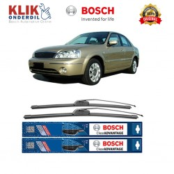 "Bosch Sepasang Wiper Frameless New Clear Advantage Mobil Ford Lynx 20"" & 18"" - 2Buah/Set"