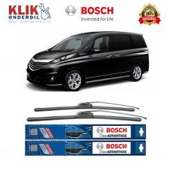 "Bosch Sepasang Wiper Depan Frameless New Clear Advantage Mobil Mazda Biante (26"" &."