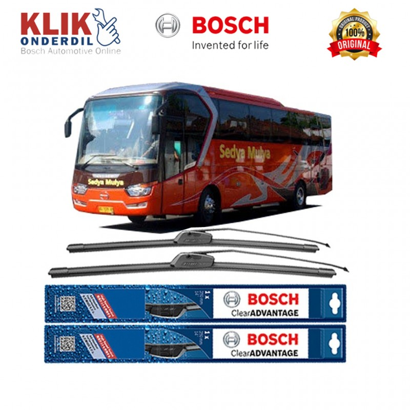 bosch sepasang wiper mobil bus bis tipe legacy sky sr 1 limited edition frameless new clear. Black Bedroom Furniture Sets. Home Design Ideas