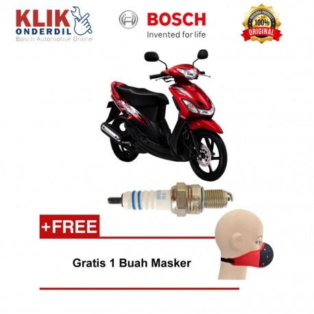 Busi Sepeda Motor U4AC Bosch - Jual Busi Motor Harga Murah Tahan Lama u/ Honda (Astrea Impressa, Legenda)
