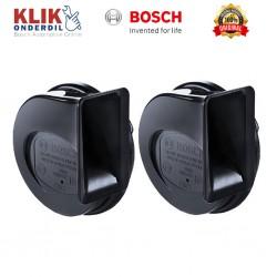 Bosch Klakson EC6 Fanfare Keong Black 12V Set - Jual Klakson yang Merk Bagus dg Suara yg Nyaring & Keras dg Harga Murah