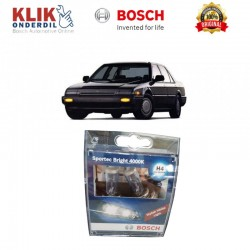 Bosch Sepasang Lampu Mobil Honda Accord 88 Low Beam Sportec Bright H4 12V 60/55W P43t (Putih) (2 Pcs/Set) - 1987304057