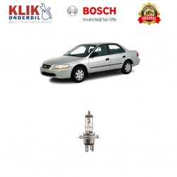 Bosch Lampu Mobil Honda Accord 99 Low Beam Standard Car H4 12V 60W/55W P43t (1 Pcs) - 0986AL1513 - 1 Buah