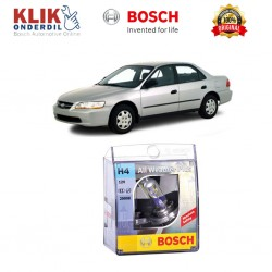 Bosch Sepasang Lampu Mobil Honda Accord 99 Low Beam All Weather Plus H4 12V 60/55W P43t (2 Pcs/Set) - 1987304030