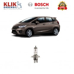Bosch Lampu Mobil Honda All New Jazz Low Beam Standard Car H4 12V 60W/55W P43t (1 Pcs) - 0986AL1513 - 1 Buah