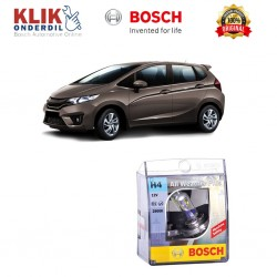 Bosch Sepasang Lampu Mobil Honda All New Jazz Low Beam All Weather Plus H4 12V 60/55W P43t (2 Pcs/Set) - 1987304030