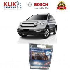 Bosch Sepasang Lampu Mobil Honda CR-V Low Beam Sportec Bright H4 12V 60/55W P43t (Putih) (2 Pcs/Set) - 1987304057