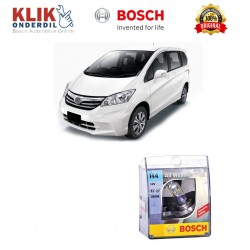 Bosch Sepasang Lampu Mobil Honda Freed Low Beam All Weather Plus H4 12V 60/55W P43t (2 Pcs/Set) - 1987304030