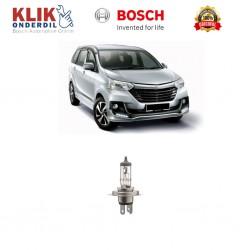 Bosch Sepasang Lampu Mobil Toyota Avanza Low Beam Standard Car H4 12V 60W/55W P43t (1 Pcs) - 0986AL1513 - 1 Buah
