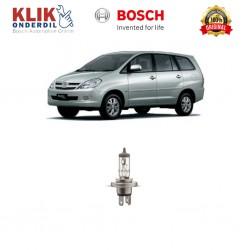 Bosch Sepasang Lampu Mobil Toyota Kijang Innova Low Beam Standard Car H4 12V 60W/55W P43t (1 Pcs) - 0986AL1513 - 1 Buah
