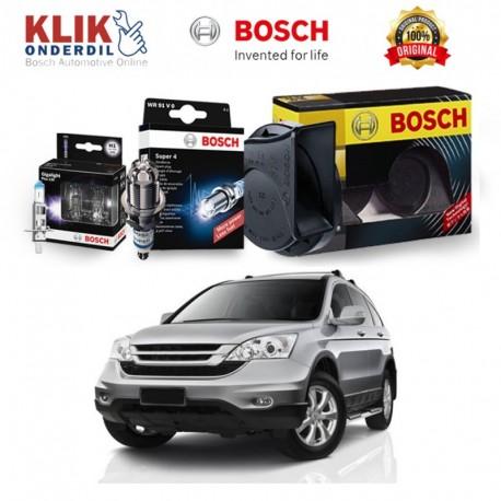 Bosch Paket Energi (Busi Super4, Klakson, & Lampu) u/ Mobil Avanza 1.3 non vvti - 3 pcs/set