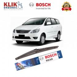 """Bosch Rear Wiper Kaca Belakang Mobil Toyota Kijang Innova Rock Lock 2 12 """" H307 - 1 Buah - Wiper Mobil Kuat Bagus Harga Murah"""