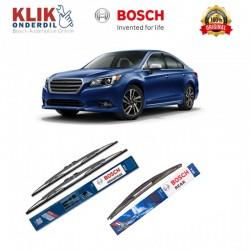 """Bosch Wiper Depan & Belakang Mobil Subaru Legacy Set (Advantage 24"""" & 18"""") + H354 14"""" - 3 Buah - Tahan Lama dg Harga Murah"""