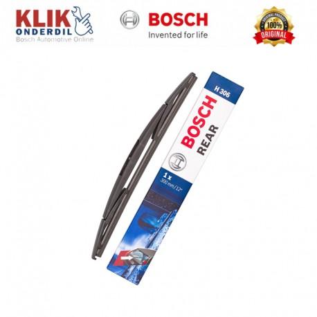 """Bosch Rear Wiper Kaca Belakang Mobil Rock Lock 3 12"""" H306 - 1 Buah - Wiper Kuat & Tahan Lama dg Harga Murah"""