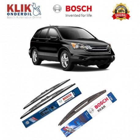 """Bosch Wiper Depan & Belakang Mobil Honda CRV Set (Advantage 21"""" & 20"""") + H306 12"""" - 3 Buah - Tahan Lama dg Harga Murah"""