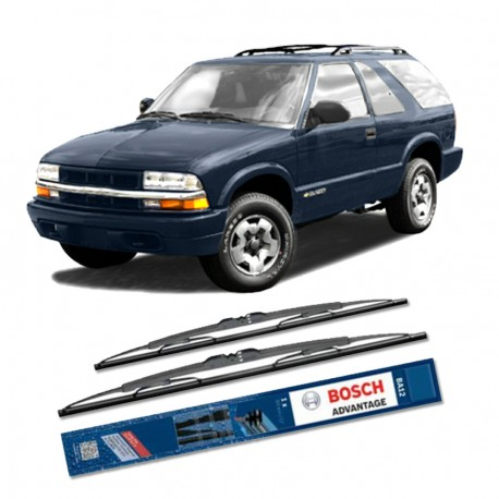 "Bosch Sepasang Wiper Kaca Mobil Chevrolet Blazer Advantage 21"" & 19"" - 2 Buah/Set - Harga Wiper Murah Merk Terbaik"