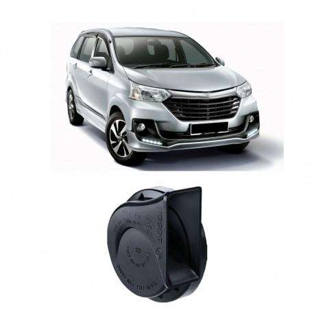 Bosch Klakson Mobil Suzuki APV H3F Digital Fanfare (Keong) Black 12V - Set - Hitam (0986AH0601)
