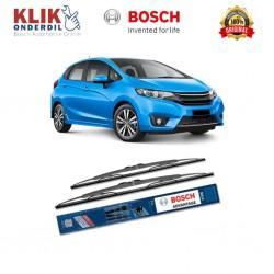 "Bosch Sepasang Wiper Kaca Mobil Honda Jazz Advantage 26"" & 14"" - 2 Buah/Set - Harga Wiper Merk Terbaik Paling Murah"