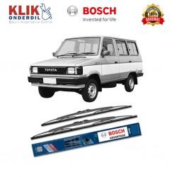 """Bosch Sepasang Wiper Kaca Mobil Toyota Kijang Advantage 18"""" & 18"""" - 2 Buah/Set - Jual Murah Wiper Merek Terbaik"""