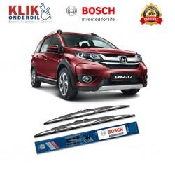 """Bosch Sepasang Wiper Kaca Mobil Toyota Agya Advantage 20"""" & 14"""" - 2 Buah/Set - Harga Wiper Murah Merk Terbaik"""