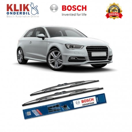 "Bosch Sepasang Wiper Kaca Mobil Toyota Yaris Advantage 24"" & 14"" - 2 Buah/Set - Harga Wiper Murah Merk Terbaik"