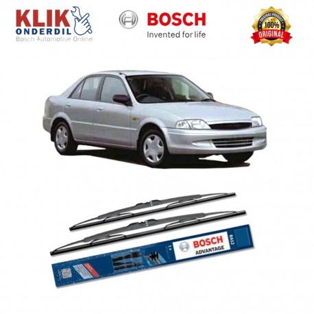 """Bosch Sepasang Wiper Kaca Mobil Ford Laser Advantage 20"""" & 18"""" - 2 Buah/Set - Harga Wiper Murah Merk Terbaik"""