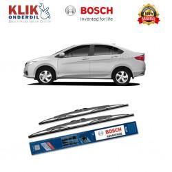 """Bosch Sepasang Wiper Kaca Mobil Honda City GD (2002-2009) Advantage 20"""" & 18"""" - 2 Buah/Set - Harga Wiper Murah Merk Terbaik"""