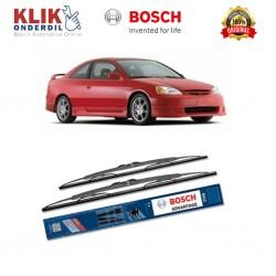 """Bosch Sepasang Wiper Kaca Mobil Honda City New GD (2004-on) Advantage 20"""" & 18"""" - 2 Buah/Set - Harga Wiper Murah Merk Terbaik"""