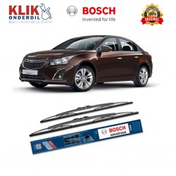 "Bosch Sepasang Wiper Kaca Mobil Chevrolet Cruze Advantage 24"" & 18"" - 2 Buah/Set - Harga Wiper Murah Merk Terbaik"
