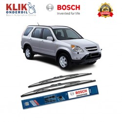 "Bosch Sepasang Wiper Kaca Mobil Honda CR-V 3rd Gen (2006-2007) Advantage 26"" & 17"" - 2 Buah/Set - Harga Wiper Murah Merk Terbaik"