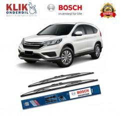 "Bosch Sepasang Wiper Kaca Mobil Honda CR-V RD (2002-on) Advantage 21"" & 20"" - 2 Buah/Set - Harga Wiper Murah Merk Terbaik"