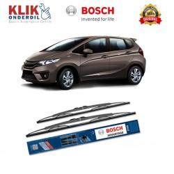 "Bosch Sepasang Wiper Kaca Mobil Honda Jazz (2008-on) Advantage 26"" & 14"" - 2 Buah/Set - Harga Wiper Murah Merk Terbaik"