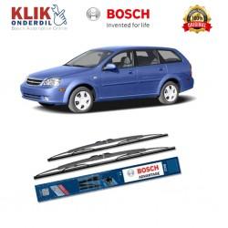 "Bosch Sepasang Wiper Kaca Mobil Chevrolet Optra Station Wagon Advantage 21"" & 19"" - 2 Buah/Set - Harga Wiper Murah Merk Terbaik"