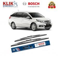 "Bosch Sepasang Wiper Kaca Mobil Honda Stream RN (2000-2006) Advantage 24"" & 14"" - 2 Buah/Set - Harga Wiper Murah Merk Terbaik"