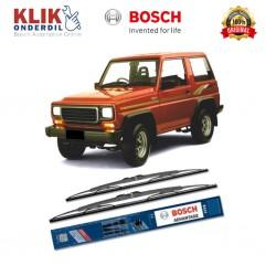 "Bosch Sepasang Wiper Kaca Mobil Daihatsu Taft Advantage 17"" & 17"" - 2 Buah/Set - Harga Wiper Murah Merk Terbaik"