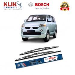 """Bosch Sepasang Wiper Kaca Mobil Mitsubishi Maven Advantage 18"""" & 18"""" - 2 Buah/Set - Harga Wiper Murah Merk Terbaik"""