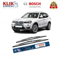"Bosch Sepasang Wiper Kaca Mobil BMW X 3 Advantage 22"" & 20"" - 2 Buah/Set - Harga Wiper Murah Merk Terbaik"