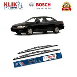 "Bosch Sepasang Wiper Kaca Mobil Ford Fiesta Advantage 21"" & 17"" - 2 Buah/Set - Harga Wiper Murah Merk Terbaik"