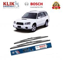 """Bosch Sepasang Wiper Kaca Mobil Subaru BRZ Z10 (2012-on) Advantage 22"""" & 20"""" - 2 Buah/Set"""