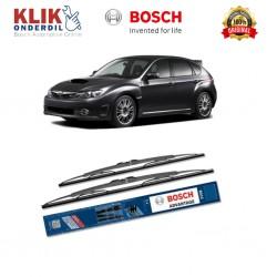 "Bosch Sepasang Wiper Kaca Mobil Subaru Impreza G12 (2007-2011) Advantage 24"" & 16"" - 2 Buah/Set"