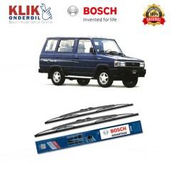 "Bosch Sepasang Wiper Kaca Mobil Toyota Hilux Tiger (2004-on) Advantage 21"" & 19"" - 2 Buah/Set"