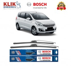 "Bosch Sepasang Wiper Frameless New Clear Advantage Mobil Suzuki Ertiga (21"" & 14"") - 2 pcs/set"