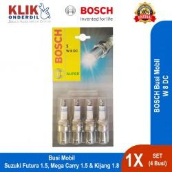 Bosch Busi Mobil W8DC Set (4 Busi) u/ Suzuki (Futura, Mega Carry), & Toyota Kijang 1.8 cc dg Harga Murah