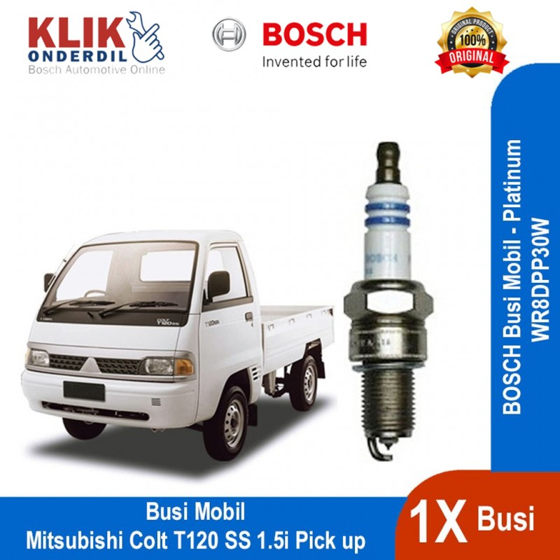 Bosch Busi Platinum Mobil Mitsubishi Colt T120 Ss 1 5i Pick Up Wr8dpp30w 1 Buah 0242230599